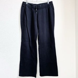 Nike   Solid Black Sweatpants